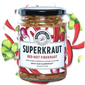 Good Nude Food Superkraut Red Hot Firekraut