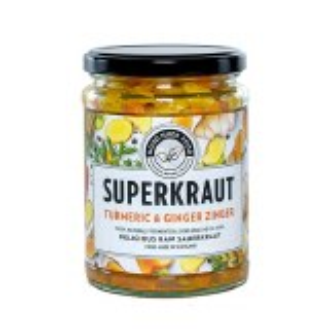 Good Nude Food Superkraut Turmeric & Ginger