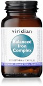 Viridian Balanced Iron Complex Capsules - 30's