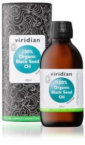 Viridian Black Seed Oil 200ml - 100% Organic