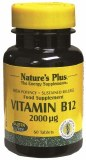 Nature's Plus Vitamin B12 2000ug - 60 Tablets