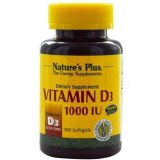 Nature's Plus Vitamin D3 1000iu - 100 Softgels
