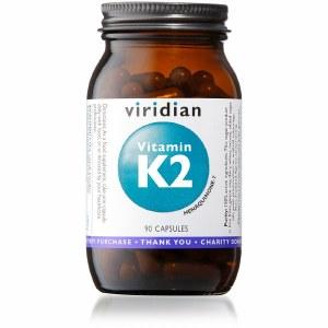 Viridian Vitamin k2 Menaquinone-7 50ug | 90 Vegan Capsules