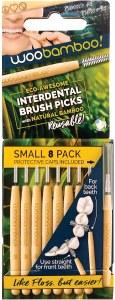 Woobamboo Interdental Brush Picks - Small 8 Pack
