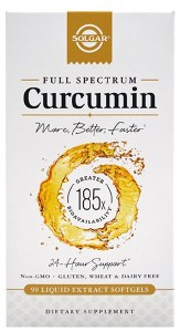 Full Spectrum Curcumin 90 Softgels 185x