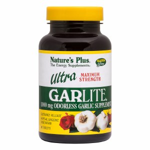 Nature's Plus Ultra Garlite - 90 Tablets