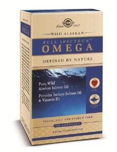 Solgar Wild Alaskan Full Spectrum Omega Softgels