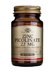 Zinc Picolinate 22mg 100 Tablets