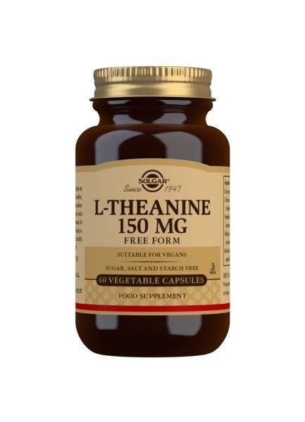 Solgar L-Theanine Capsules 150mg - Bottle of 60