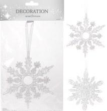 HANGING DECORATION SNOWFLAKE 2