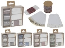 Wrapping decoration (set 6/5 assorted)