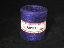 Poly raphia (15mm x 200mm/Plum)