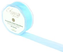 Finesse wired ribbon (32mm x 20m/Light blue)