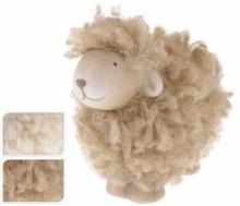 SHEEP CERAMIC WITH FUR 2ASS