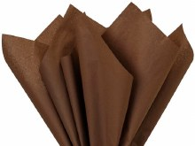 Tissue Paper Sheets Chocolate x240