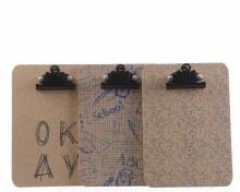 MDF wooden clipboard 3ass