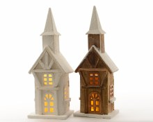 LED wooden tower ind bo