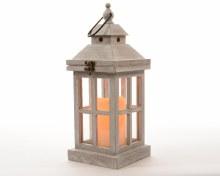 LED wooden lantern ind bo