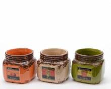 Dolomite planter jar (3 assorted)