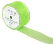 Finesse wired ribbon (50mm x 20m/Light green)