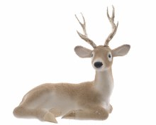 foam reindeer with glitter pa
