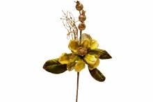"""14"""" Magnolia w Pom. Pick Sage"""