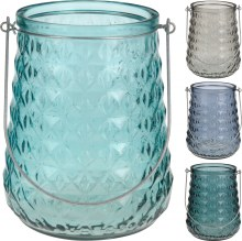 Tealightholder Glass 16X20cm