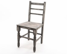 firwood chair antique finish