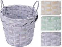 Basket Round Bamboo Assorted