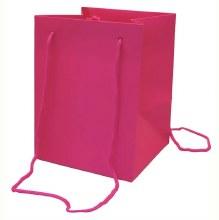 Hand Tie Bag Cerise (19x25cm)