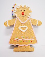 Gingerbread man  Hat 43X33CM