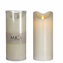 LED CANDLE B/O H23D10 OFF WHIT