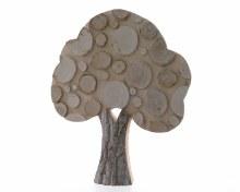 Oak Wood Tree (56cm)