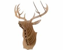 MDF reindeer wall trophy