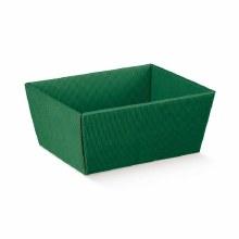 Green Tray Wavy - Vassoio C Onda Verde 26x26x10cm