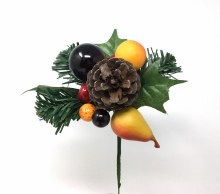 "7"" Natural Fruit Pick"