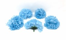 Carnation Heads 24 Dz Blue