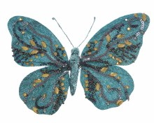 pes velvet bfly w glitter