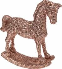 Rocking  horse  30(L) x 26(H) x 20(W)/Copper