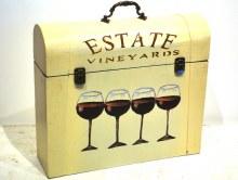 4 Bottle Wine Box Vineyard