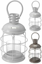 LANTERN METAL 195X330MM 2ASS