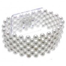 Small Pearl Bracelet - White