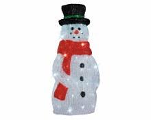 LED acrylic snowman outd GB t
