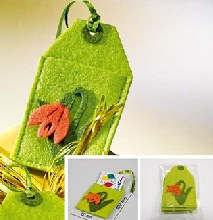 Tulip card holder (Green)
