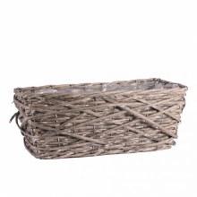 Basket Rectangle Foxton Natural 37 x 19 cm