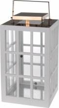Lantern (36cm/White&Copper)