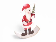 Jingle Rocking santa 14cm