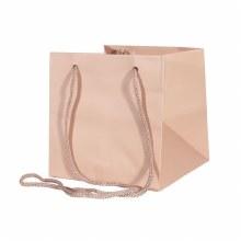 Hand Tie Bag Rose Gold( 17x17cm)