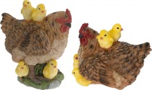 Chicken with Chicks Assorted (27cm)