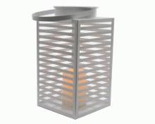 LED metal beach lantern bo out